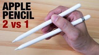 Apple Pencil 2 vs Apple Pencil 1 (pressure sensitivity changes?)