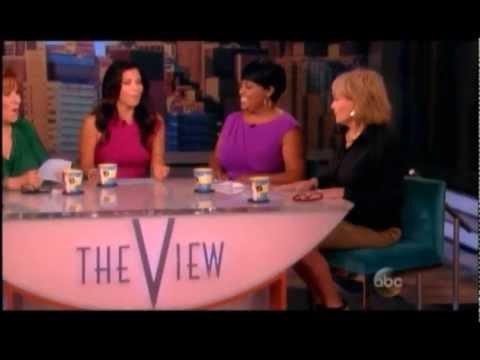 lauren sanchez on The View 7-30-2013