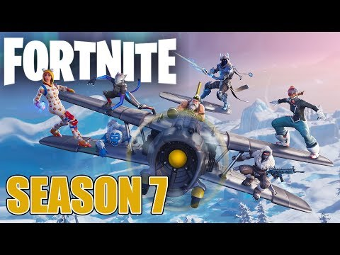 What's New In Season 7?! - Fortnite Battle Royale Xbox One X Gameplay