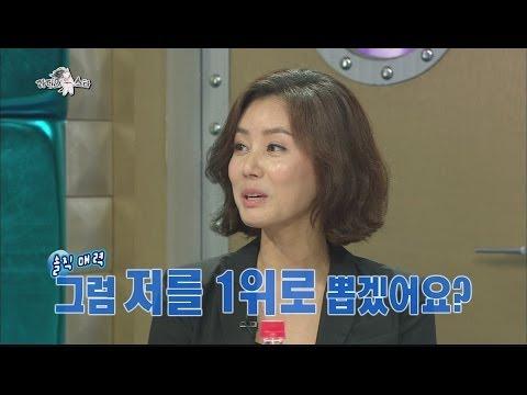 [HOT] 라디오스타 - 김성령이 매기는 외모순위! 백지영이 3위인 이유 '고쳐서!' 20140611