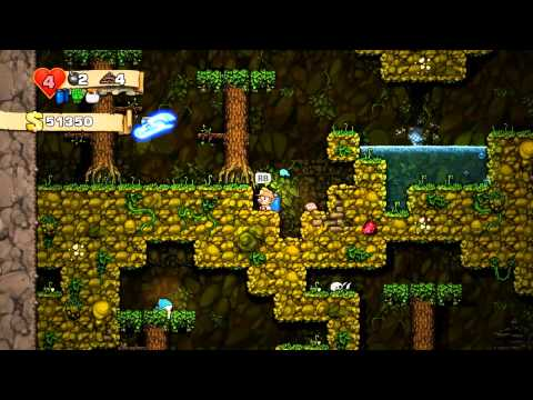 Let Us Play Spelunky - Day 7!