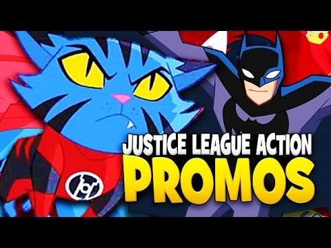 Justice League Action Promo Clips Reaction and Breakdown + Release Date Revealed?