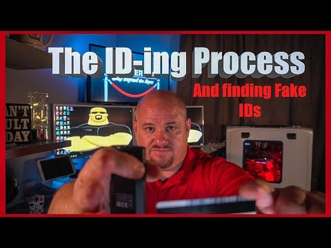The ID-ing Process And Finding Fake ID - Bouncer Tips (2018)