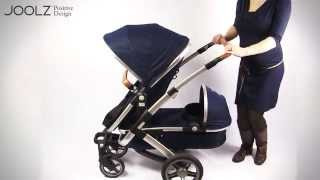 Joolz Geo Duo Upper Seat + Lower Cot Demo