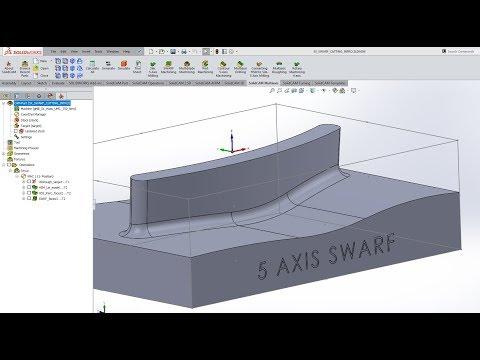 KevCAM Night School - Simultaneous 5 Axis - Swarf Machining