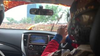 Test Ride All New Pajero Sport Dakar From The Inside