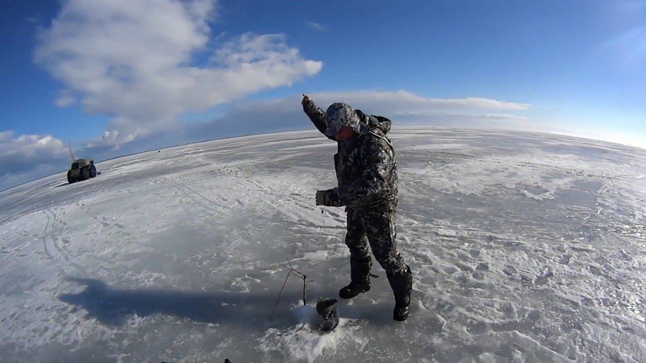 Рыбалка в Карелии на вездеходе Шерп