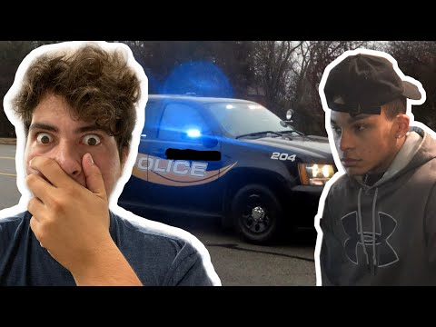 HELPING A FRIEND & ALMOST CAUGHT UP BY POLICE
