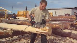 Обработка леса под рубанок