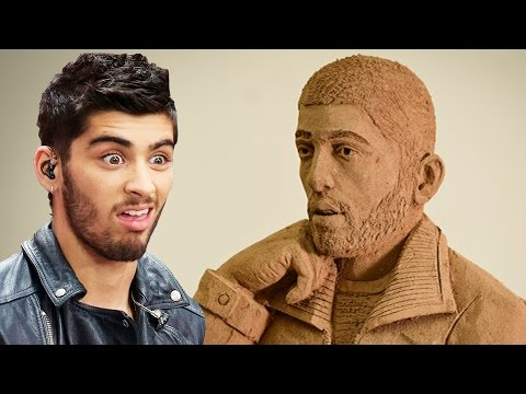 """Creepy"" Zayn Malik Statue Gets Trolled By Fans!"