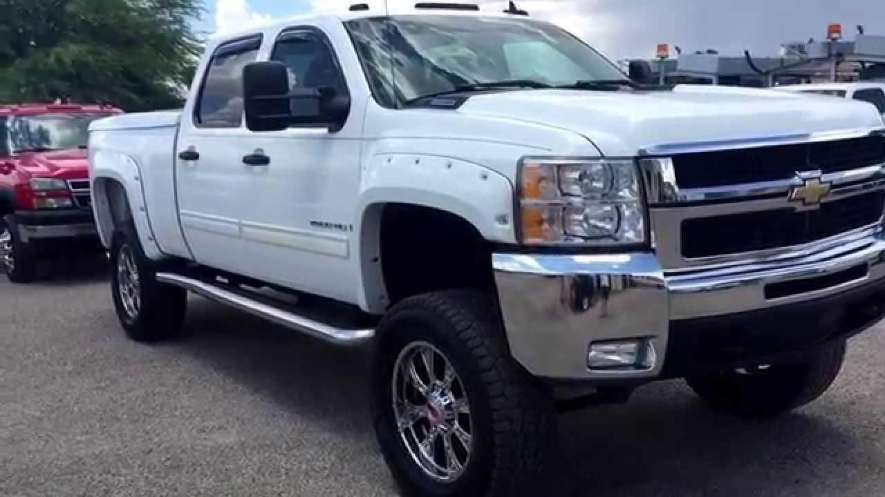 All Chevy 2009 chevy duramax : 2009 Chevy Duramax Lifted Diesel Wheel Kinetics - YouTube