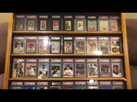 Baseball Card Display Case On Steroids
