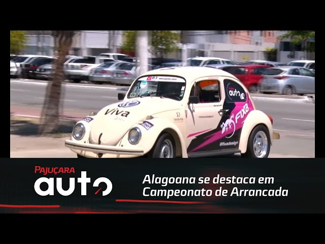 Alagoana se destaca em campeonato de arrancada na Paraíba