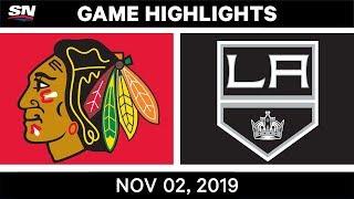 NHL Highlights | Blackhawks Vs Kings – Nov. 2, 2019