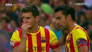 Lionel messi vs atletico madrid away hd 1080i (21/08/2013) by irammessitv