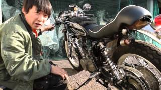 ヤマハSR500カフェカスタム:参考動画