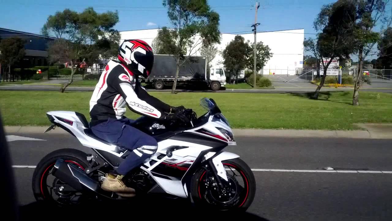 Ninja 300 White Se 2014 Youtube