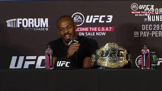 UFC 232: Главные моменты пресс-конференции