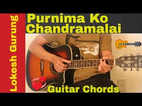 Purnima ko chandramalai - Lokesh Gurung guitar chords