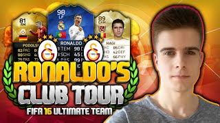 FIFA 16: GALATASARAY ISTANBUL LEGEND HAGI! - RONALDO'S CLUB TOUR #15 [DEUTSCH] - FIFA 16: GALATASARAY ISTANBUL LEGEND HAGI! - RONALDO'S CLUB TOUR #15 [DEUTSCH] Ronaldo, Hagi, Inform UP Podolski, Sneijder und mehr!