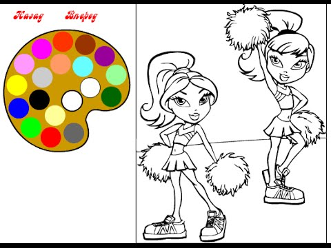 Bratz Coloring Pages Coloring Pages For Girls YouTube