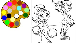 Bratz Coloring Pages - Coloring Pages For Girls