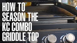 How to season a Griddle Top on a Flat Top Grill | Pit Boss Grills
