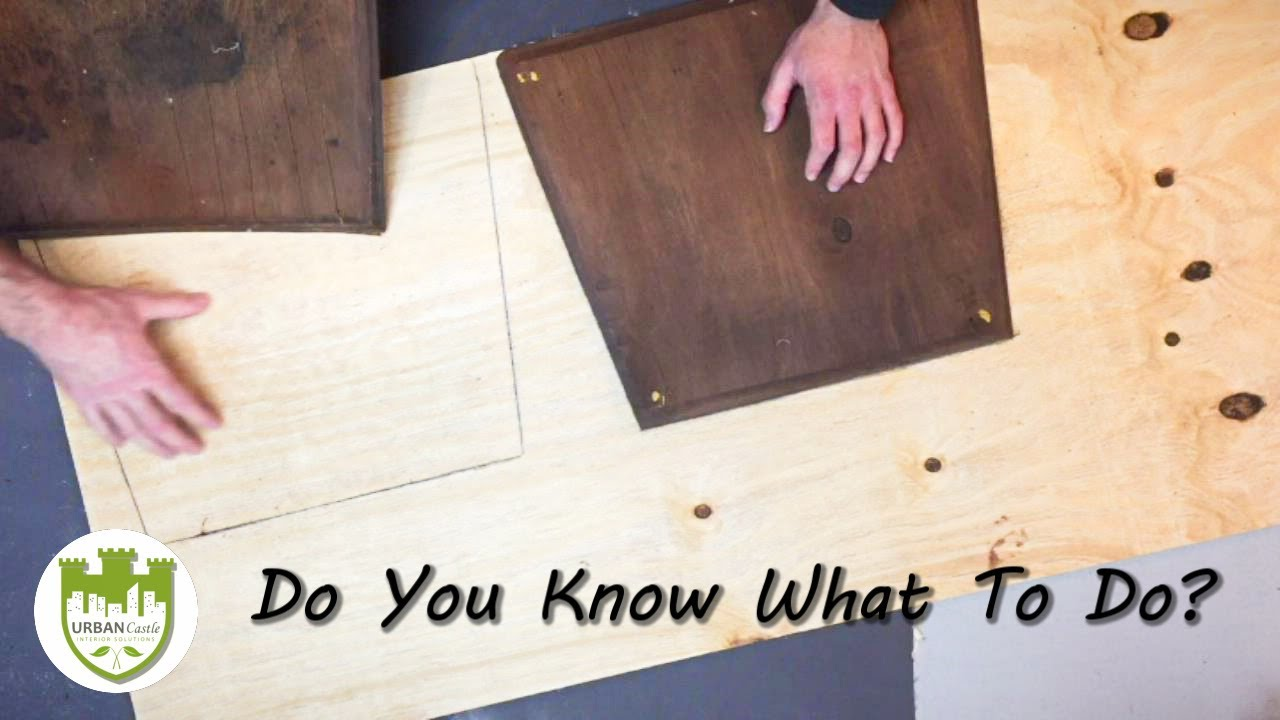 Part 2: How To Repair And Reupholster Dining Room Chairs   Replacing Dining  Room Chair Seat Board