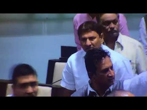 યુટ્યુબ માટે : Shame scene in Gujarat Assembly : BJP-Cong. MLA fights free handed
