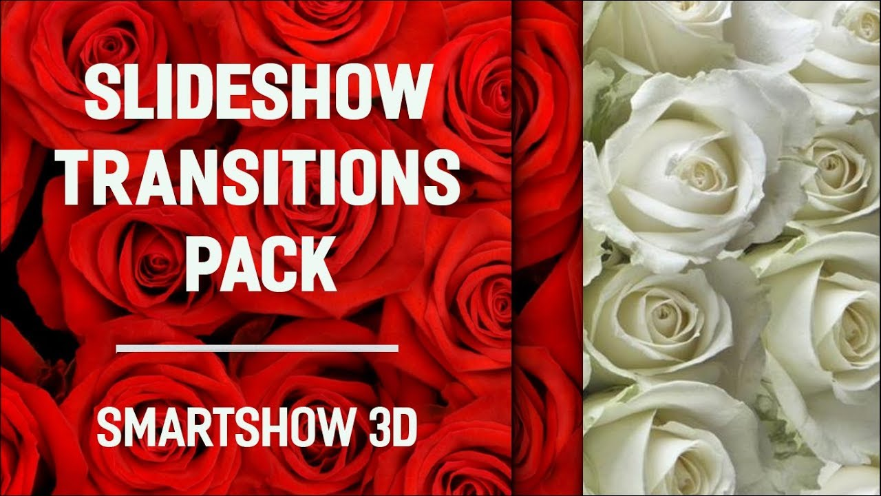 Slideshow Transitions Pack - 130+ Eye-Popping Effects for Your Photo Movies