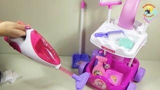 Детский игровой набор для уборки / Children's play set for cleaning