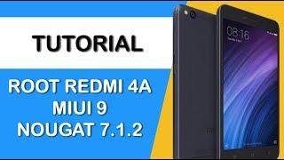 Root Redmi 4A (Rolex) MIUI 9 Nougat 7.1.2