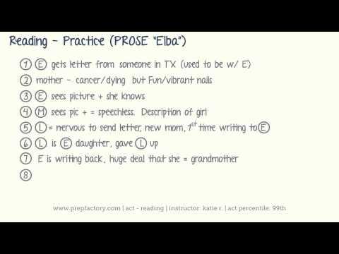 ACT Reading - Practice (Prose)