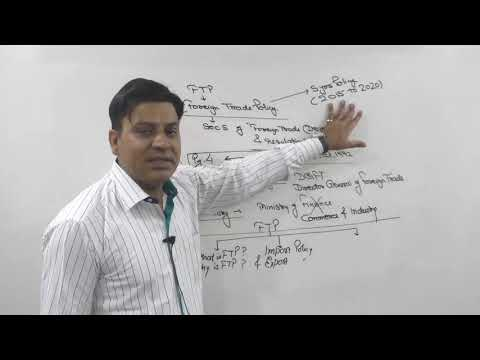 CA / CMA Final : FTP : Foreign Trade Policy : Lecture 1