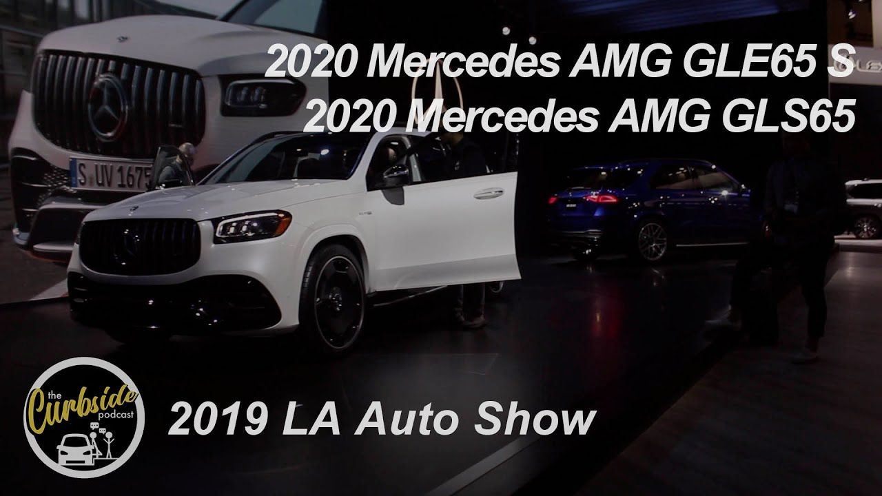 2020 Mercedes AMG GLE65 S and GLS65 - Fast Fatties!