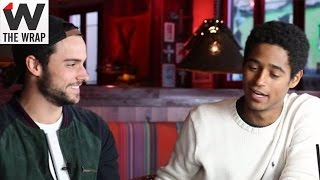 'How to Get Away With Murder' Stars Jack Falahee and Alfred Enoch Play Wrapid Fire: #WhoKilledSam
