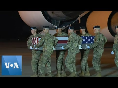 Body Of Soldier Killed In Afghanistan Returned To US