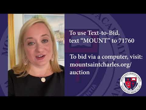 Mount Saint Charles Academy 2020 Auction Instructions