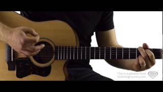 Forever and Ever Amen - Guitar Lesson and Tutorial - Randy Travis