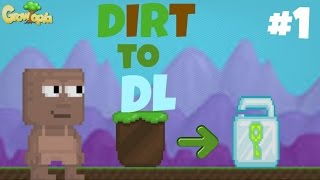 Growtopia - Dirt To Dl #1 This Land Is My Land!