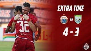 PERSIJA JAKARTA 4 - 3 PERSELA LAMONGAN [Liga 1 2019] | Extra Time