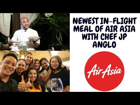 Malagos Chocolate Infused Meal with Air Asia by Chef Jp Anglo - thedorzfallac vlog
