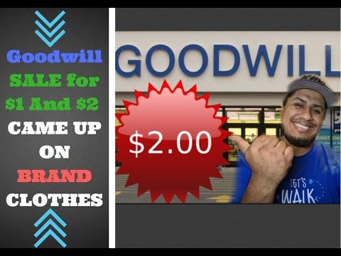 Trip To My Favorite Store Goodwill SALE OF $1 $2 WOW YOU WON'T BELIEVE WHAT I BOUGHT * #153