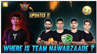 Where Is Team Nawabzade?🤔 Radhe TKR \u0026 VRC Permanent Gxr Players?   Espl Updates - Free Fire Esports