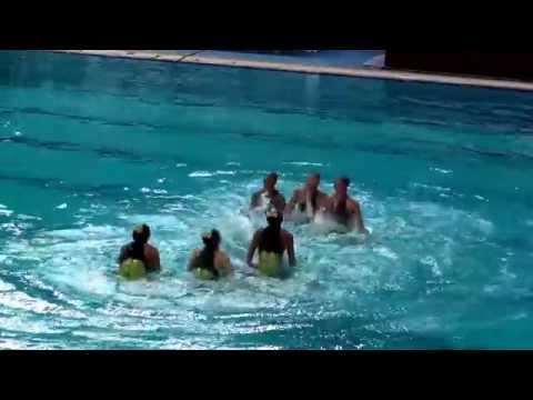 2015 China Junior Open, Beijing  - Aquamaids Free Team