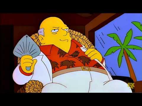 Cuenta secreta Islas Caimán Krusty Los Simpson