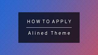 Alined Substratum Theme