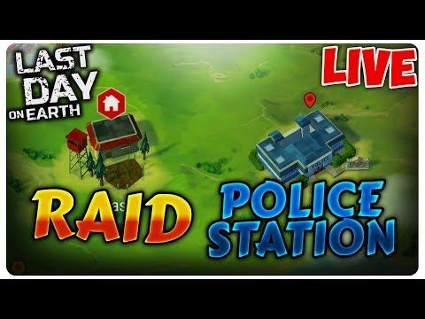 RAID + Police Station | Last Day on Earth [LIVE#140]