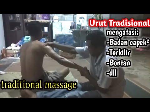 Reflexology massage techniques