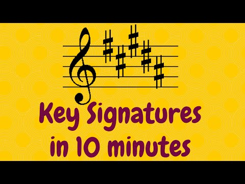 Key Signatures for Grade 5 Music Theory: EASY!